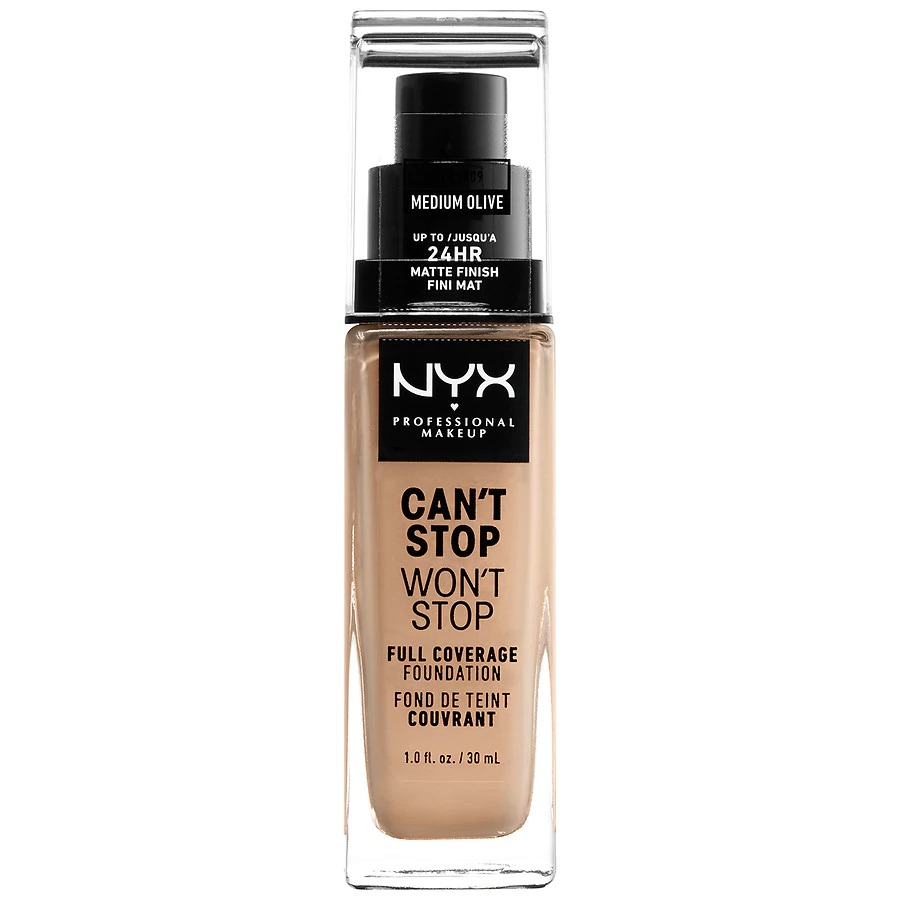 NYX Professional MakeupCan't Stop Won't Stop Full Coverage Foundation