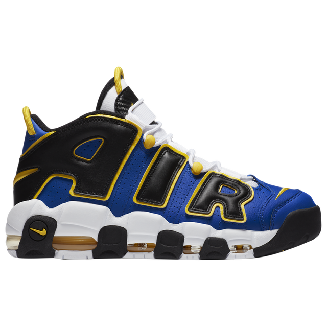 """Nike Air More Uptempo """"peace,love,and basketball"""" 蓝黑"""