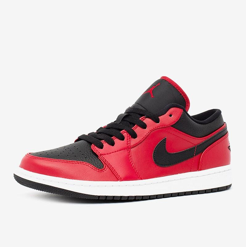 Air Jordan 1 Low Gym Red  黑红