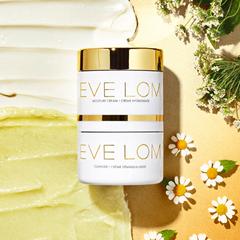 【7.5折】EVE LOM 卸妆膏(100ml)+保湿霜(50毫升)