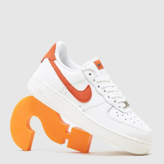 size?官网:Nike Air Force 1 Air Force 1 'Craft' Women's 白橙 少量