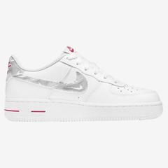 Nike Air Force 1 Low 童鞋 白红 少量