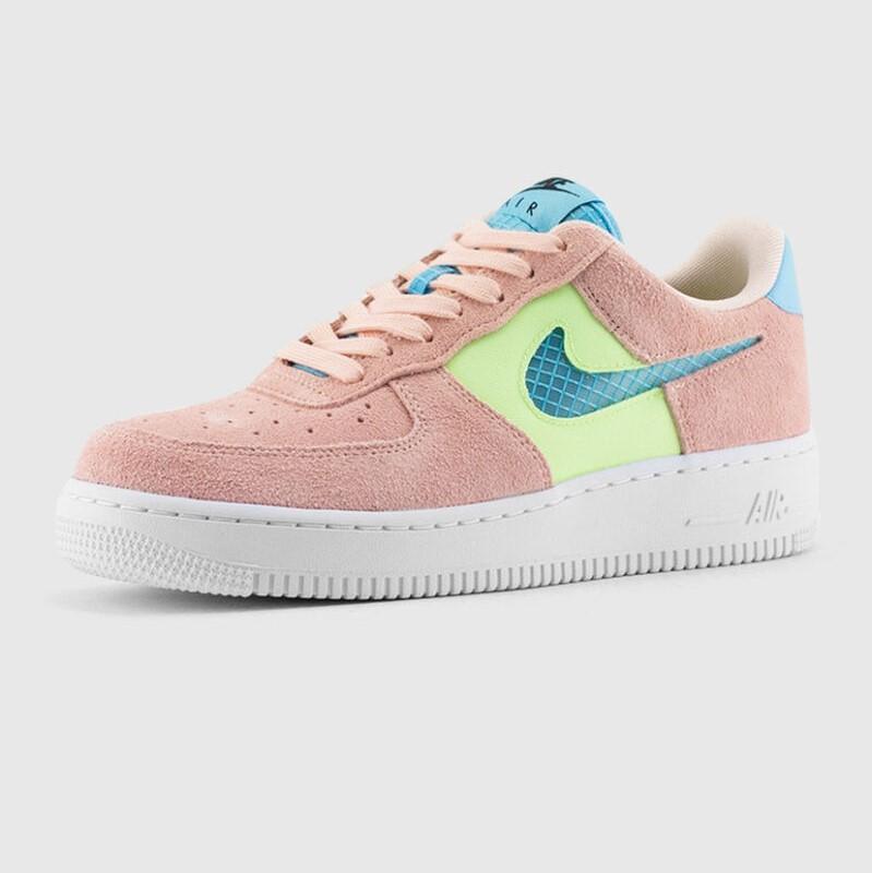 Nike Air Force 1 Low '07 SE 女款 粉绿蓝 少量现货