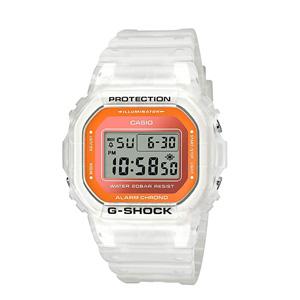 小降!Casio卡西欧 G-Shock DW5600LS-7透明色彩石英男表
