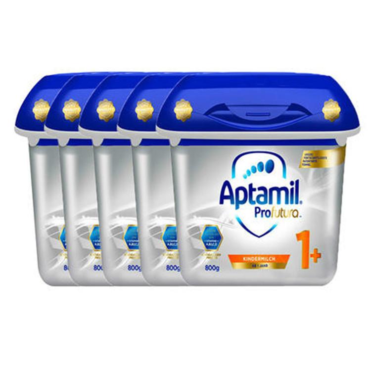 Aptamil 爱他美 奥地利白金版婴幼儿奶粉 1岁+ 800gx5