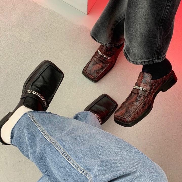 Martine rose 品牌专场 收方头乐福鞋