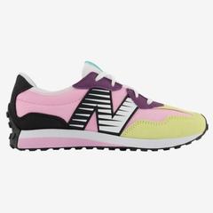 New Balance 327 童鞋 粉黑黄 少量 现货