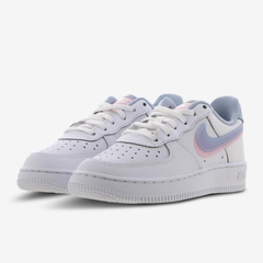 Nike Air Force 1 童鞋 白蓝粉 少量 现货