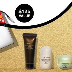 Shiseido资生堂:满$150送时光琉璃4件套
