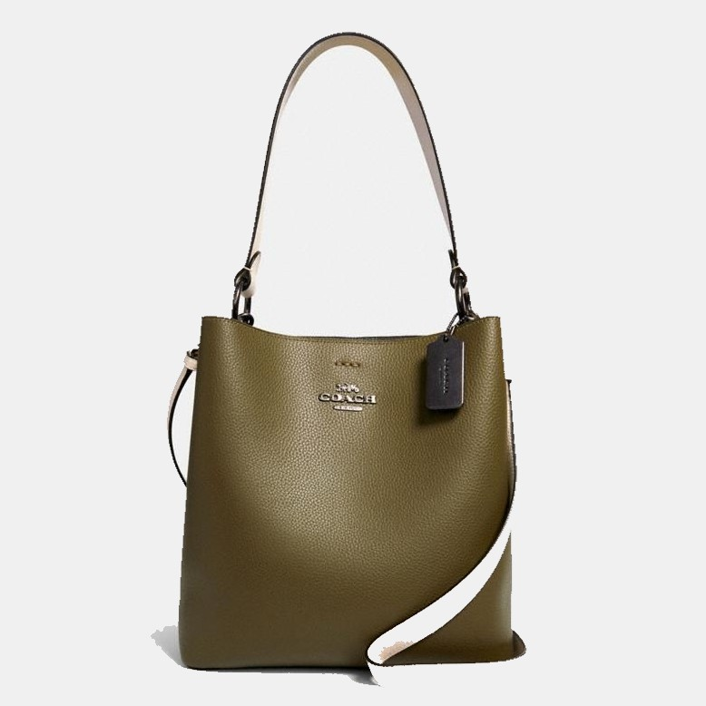 Coach Town Bucket Bag In Colorblock