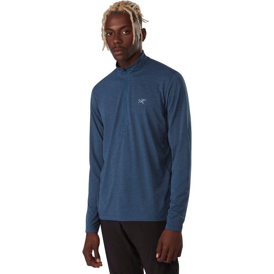 Arc'teryx Cormac 男士-拉链脖子长袖衬衫 多色