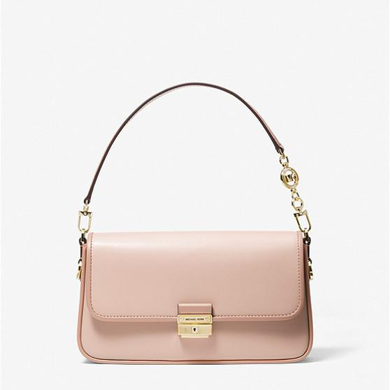 MICHAEL MICHAEL KORS Bradshaw Small Leather Shoulder Bag