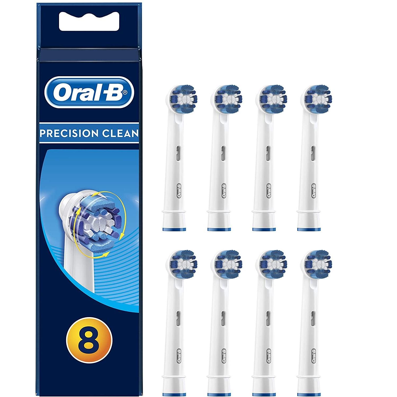限时高返6%Oral-B 欧乐-B  Precision Clean电动牙刷头 8支装