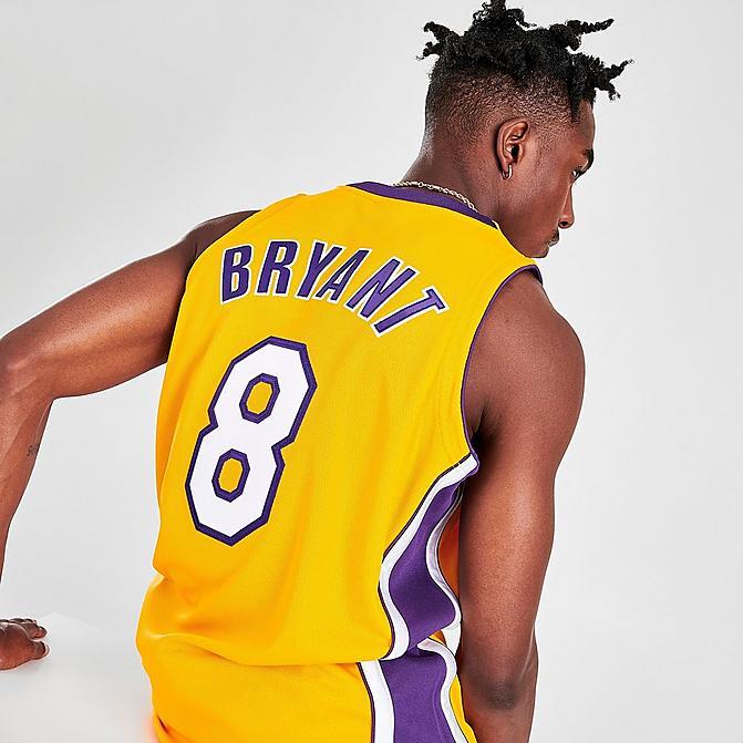 MITCHELL & NESS KOBE BRYANT LOS ANGELES LAKERS NBA FINALS BASKETBALL JERSEY