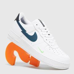 Nike Air Force 1 '07 Low 男士 白蓝 短钩 少量现货
