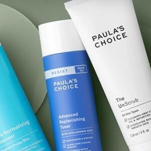 Paula's Choice官网:洁面产品促销