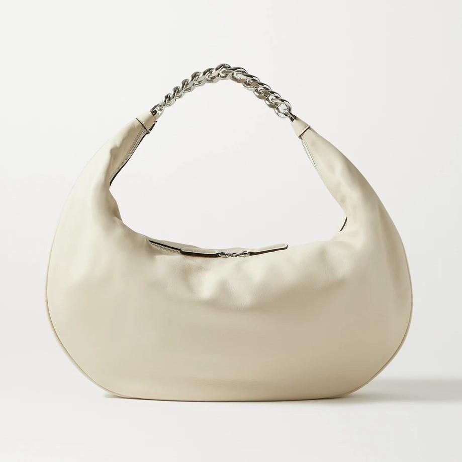 STAUD Sasha large leather shoulder bag
