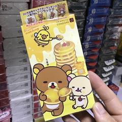 【日亚】Okamoto冈本 轻松熊 避孕套 超润滑热感安全套 10个装