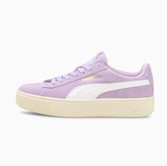 【5.1折+限时高返15%】Puma Vikky Stacked SD女款厚底鞋 白紫 多色 码全