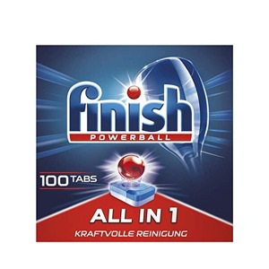 Finish亮碟 All in 1 全效洗碗块 100块