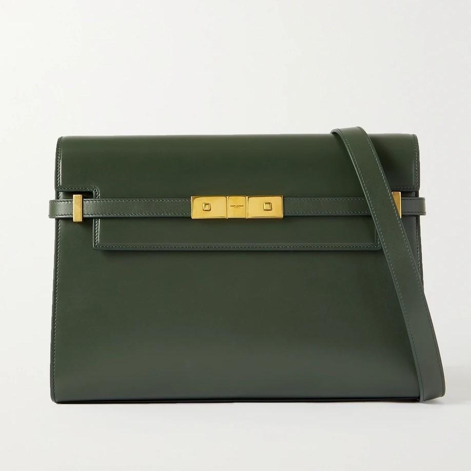 SAINT LAURENT Manhattan leather shoulder bag