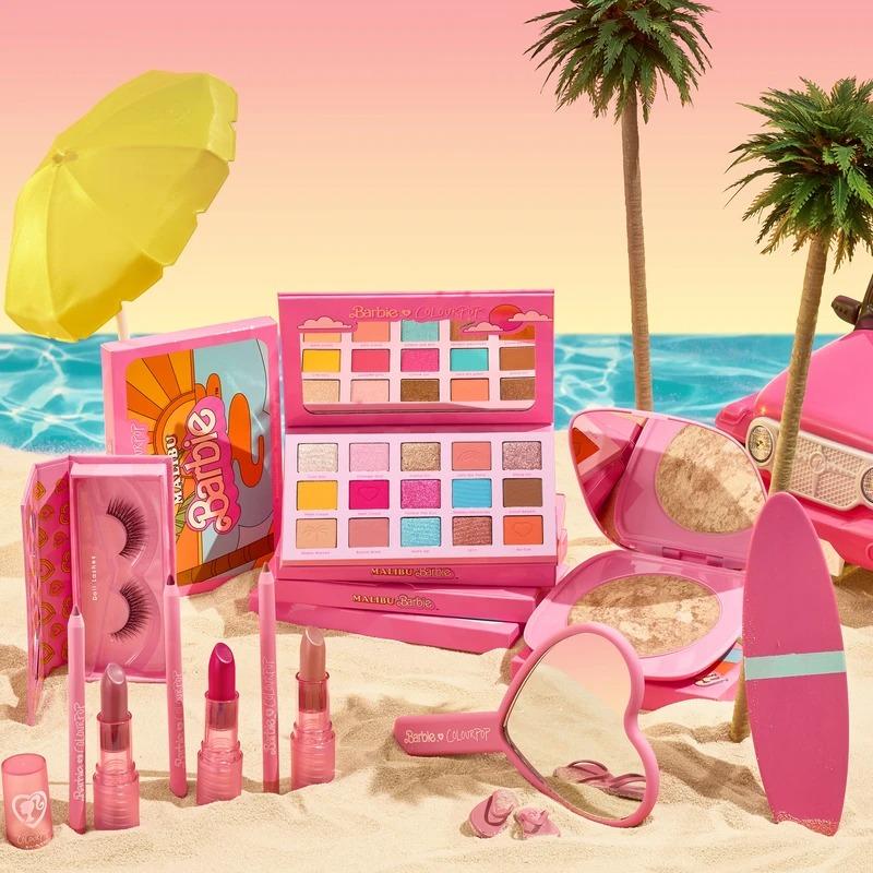 ColourPop 卡泡芭比联名套装 malibu barbie™ x colourpop