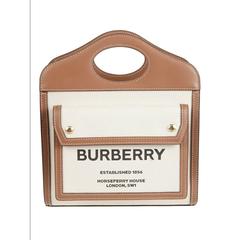 【8折】BURBERRY Pocket 托特包