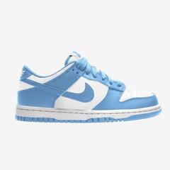 Nike Dunk Low 大童 白蓝即将发售
