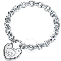 【变相6.3折】Tiffany&CO 爱心吊牌手链