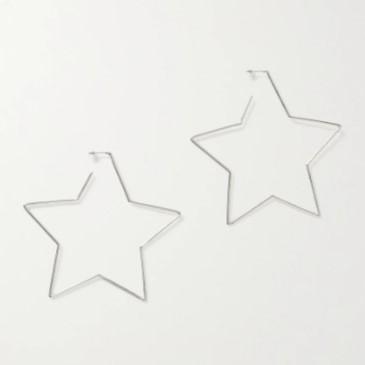 ISABEL MARANT 银色星星耳环