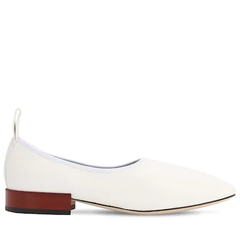 【变相4.8折+少量】Loewe 白色方头奶奶鞋