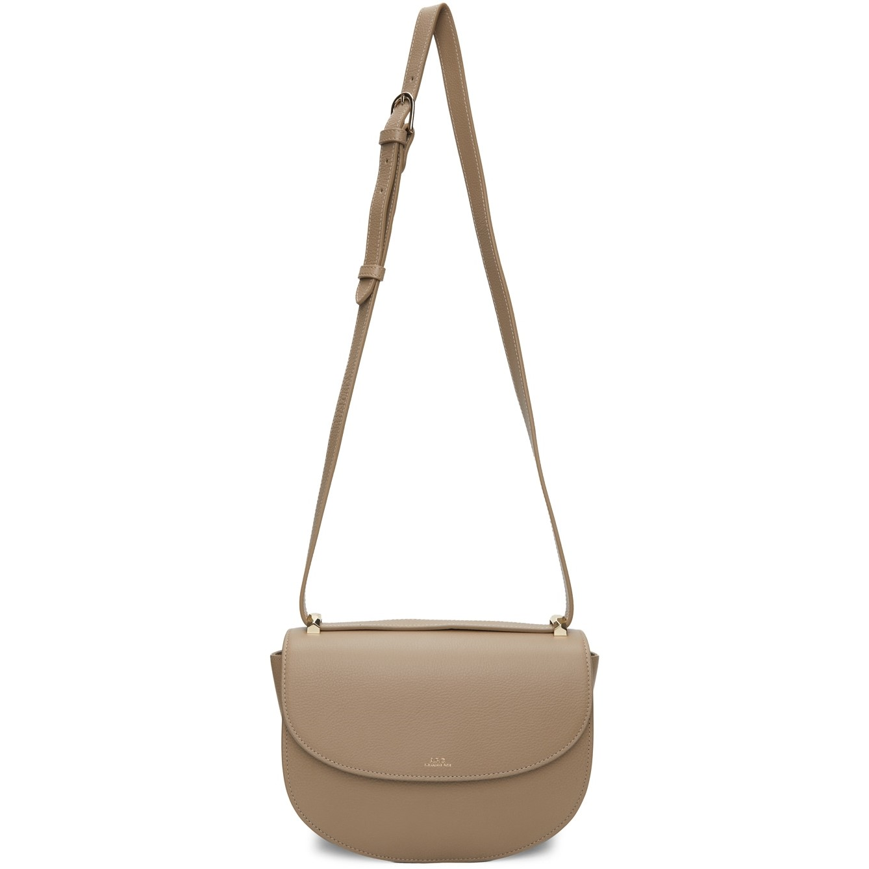 A.P.C. Taupe Genève Bag