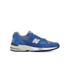 """白菜价【变相4.4折+高返15%】NEW BALANCE """"991"""" 麂皮 蓝灰 复古运动鞋"""
