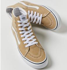 【5折】  Vans Sk8-Hi Sneaker 奶茶色高帮板鞋