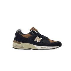 "NEW BALANCE ""991""麂皮&网眼 海军蓝 运动鞋 少量现货 BUG价!变相5.6折"