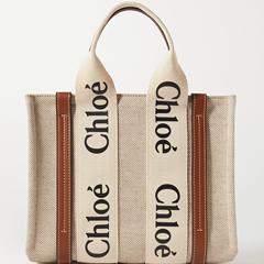 【跨站邮寄倒计时】Chloe Woody小号棕色托特包