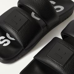 【上新+退税】Acne Studios 21新款笑脸运动拖鞋