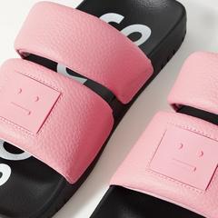 Acne Studios 21新款笑脸运动拖鞋