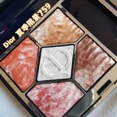 补货!Dior 2021夏季限定眼影盘759流沙裸棕色