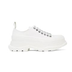 【7.2折+美站价优】Alexander McQueen 纯白色低帮厚底鞋 独家款