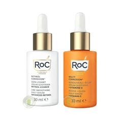 RoC 洛克 多重修护维生素C精华液 30ml+视黄醇A醇精华液 30ml
