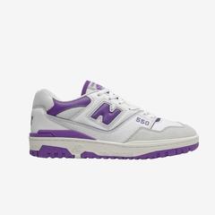 New Balance BB550 男士 白紫 低帮 少量现货 多色
