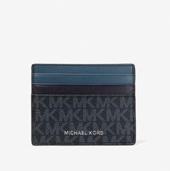 【5.6折】Michael Kors Hudson 拼色徽标卡包