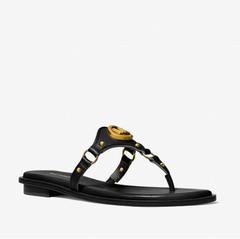【5.3折】Michael Kors Conway Logo Charm 凉鞋