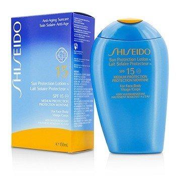 Shiseido 资生堂 防晒乳液 SPF15 ( 适合面部及身体 ) 150ml 全场3件8.5折