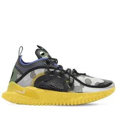 """NIKE """"FLOW 2020 ISPA"""" 黑黄运动鞋 黄金码全 5.6折"""