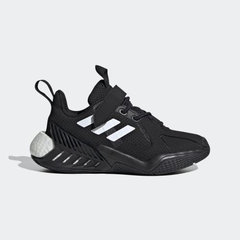 阿迪达斯 儿童 黑白 运动鞋 少量现货 7折+满4件享额外5折
