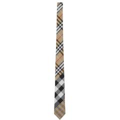 Burberry 经典复古格纹领带 美站好价 3.4折
