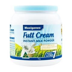 Maxigenes 美可卓蓝胖子 全脂高钙成人奶粉 1KG