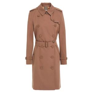 Burberry巴宝莉 女士Kensington双排扣风衣 4.6折
